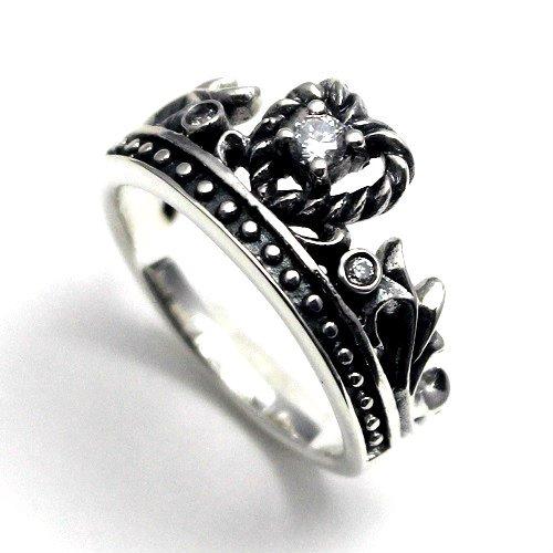 王冠 クラウン シルバー925 リング 指輪