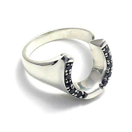 馬蹄 ホースシュー リング 指輪 シルバー925 グッドバイブレーション