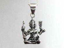 インド ブラフマー ヒンドゥー教 ペンダントトップ シルバーアクセサリー