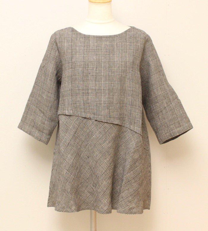 <fleur de pomme-フルール・ド・ポム->モスパシャツ商品画像2