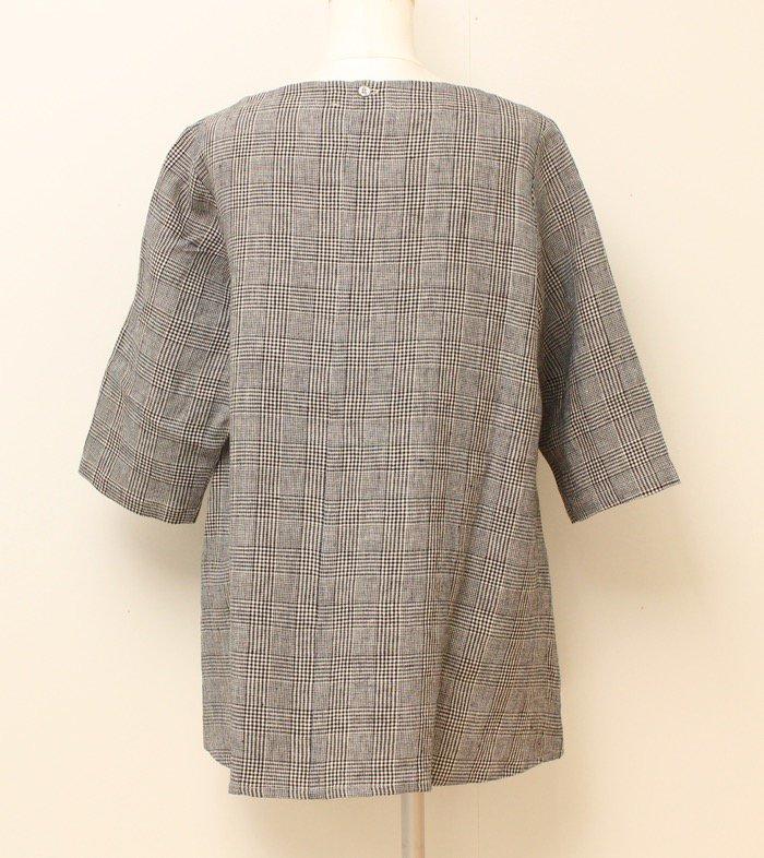 <fleur de pomme-フルール・ド・ポム->モスパシャツ商品画像4