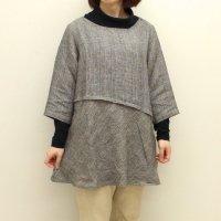 【30%OFF】<fleur de pomme-フルール・ド・ポム->モスパシャツ