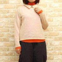 【50%OFF】K98602衿セーター