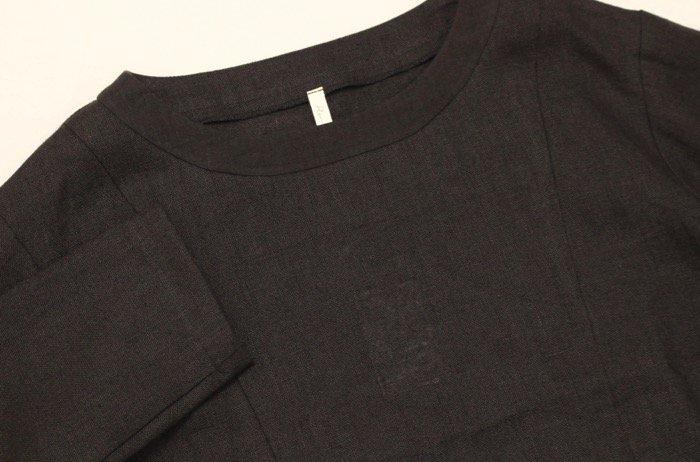 <fleur de pomme-フルール・ド・ポム->カシスシャツ商品画像6