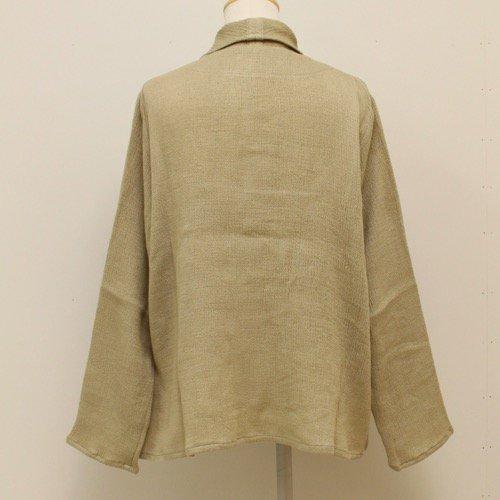 <fleur de pomme-フルール・ド・ポム->ケージュシャツ商品画像5