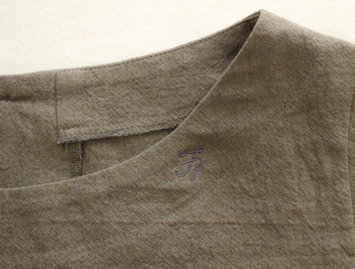 <fleur de pomme-フルール・ド・ポム->ニコフシャツ商品画像5