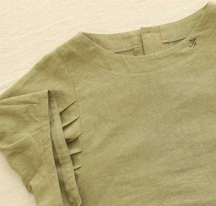 <fleur de pomme-フルール・ド・ポム->ニコフシャツ商品画像8