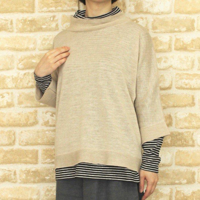 【50%OFF】K95701ハイネックセーター商品画像1