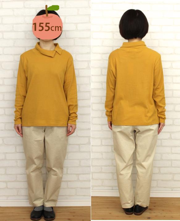 【SALE】N-068 ボタン衿 フライス商品画像10