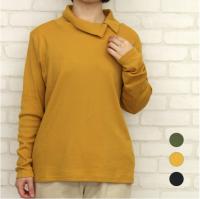 【SALE】N-068 ボタン衿 フライス