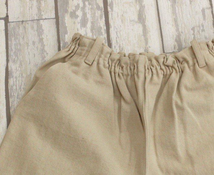 ストレートクラフトパンツ(Lサイズ/綿100%)2018年春カラー商品画像6