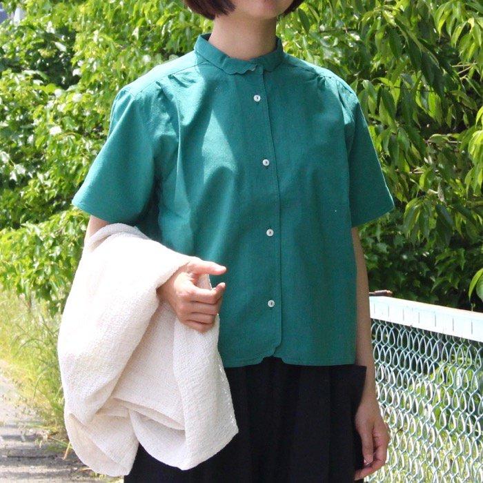 半袖マジパンブラウス(Mサイズ/カラー)※旧デザイン商品画像1