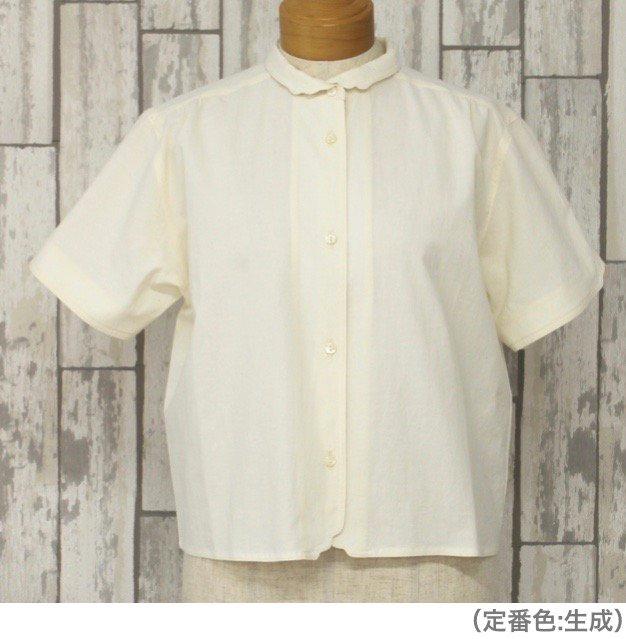 半袖マジパンブラウス(Mサイズ/カラー)※旧デザイン商品画像3