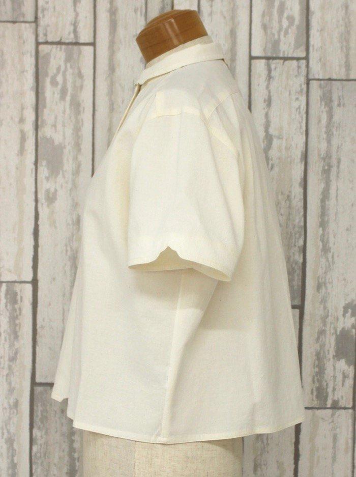 半袖マジパンブラウス(Mサイズ/カラー)※旧デザイン商品画像4