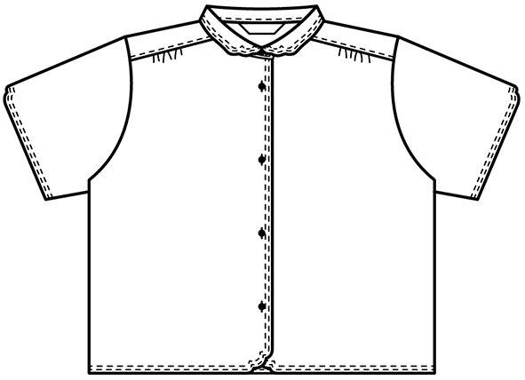 半袖マジパンブラウス(Lサイズ/カラー)※旧デザイン商品画像15