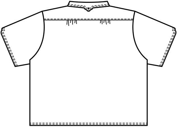 半袖マジパンブラウス(Lサイズ/カラー)※旧デザイン商品画像16