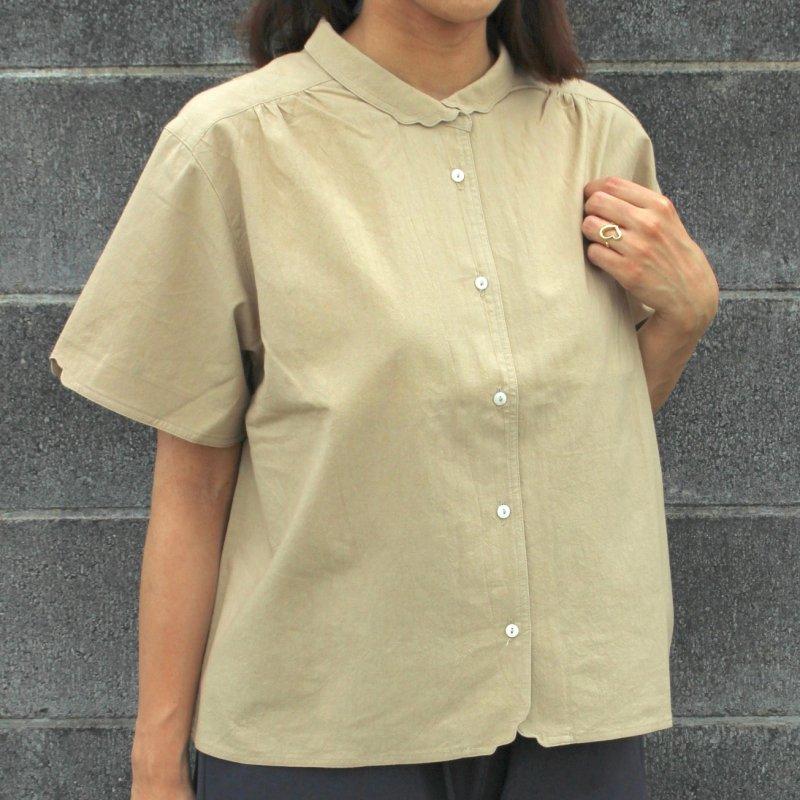 半袖マジパンブラウス(3Lサイズ/カラー)※旧デザイン商品画像1