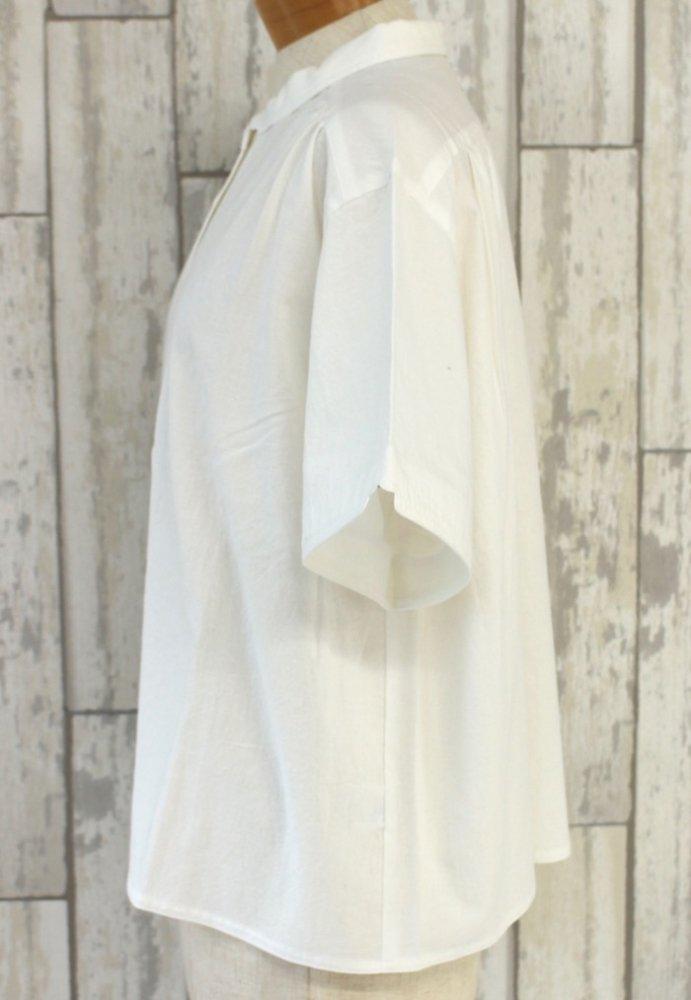 半袖マジパンブラウス(3Lサイズ/カラー)※旧デザイン商品画像4