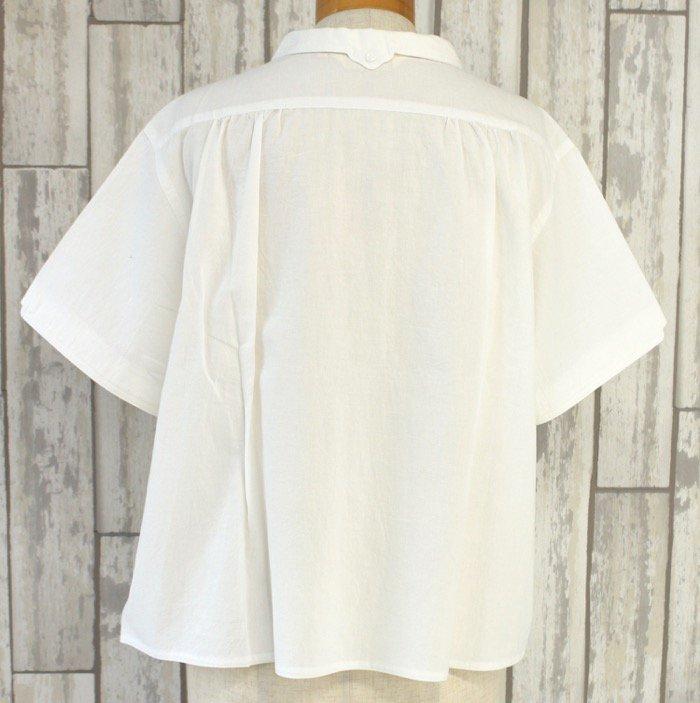 半袖マジパンブラウス(3Lサイズ/カラー)※旧デザイン商品画像5