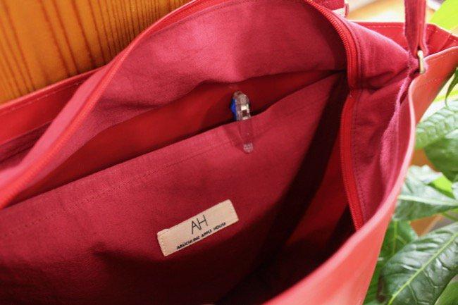 エレファンバッグ -2(ファスナー・外ポケット付き)商品画像7