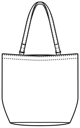 エレファンバッグ -3(裏地・ファスナー付き)商品画像9