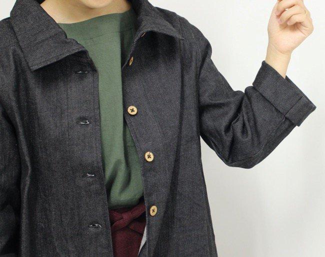 G-1 シュイシャツ(デニム)商品画像2