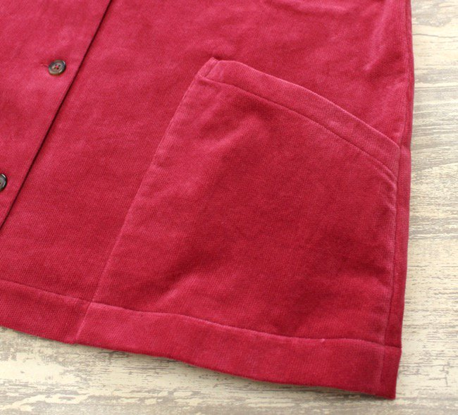 タイシンシャツジャケット(別珍) 商品画像9