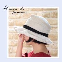 ミエロ帽子<fleur de pomme-フルール・ド・ポム->