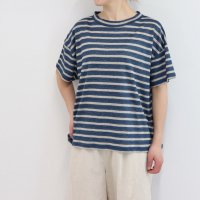 N3113麻半袖Tシャツ