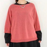 K5126ドルマン袖セーター