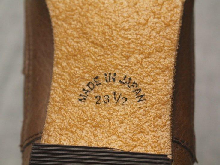 【50%OFF】ハリーブーツ茶色(4サイズ展開/皮革)商品画像8