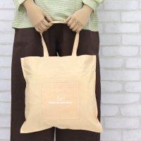 カラーBAG(Mサイズ)アップルハウスの手提げ袋