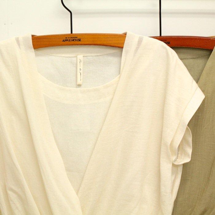 【50%OFF】<fleur de pomme-フルール・ド・ポム->ウイタシャツ商品画像3