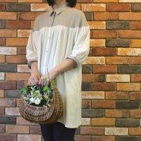 【30%OFF】<fleur de pomme-フルール・ド・ポム->ニフシャツ