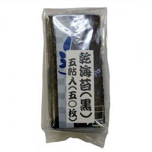 市松乾海苔(黒)5帖入