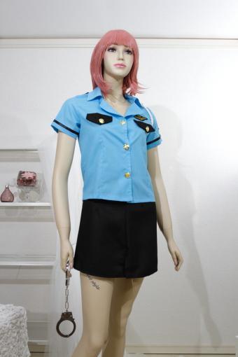 コスプレ ポリス系 かっこいいミニスカート婦警さん