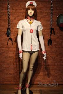 妄想プレイ 秘密の病棟シリーズ 101号室 セクシーなナース服拘束セット(ピンク)