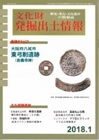文化財発掘出土情報2018年1月号(通巻440号)