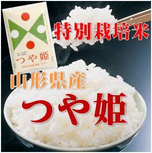新米【送料無料】29年山形県産特別栽培つや姫白米10kg(5kg×2)