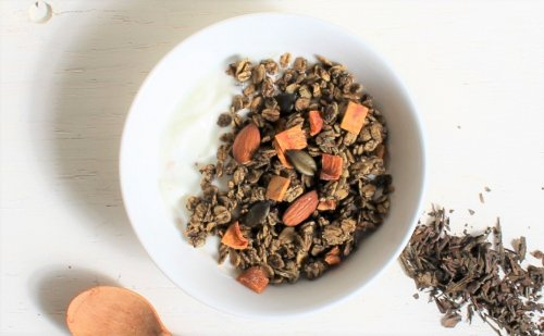 ほうじ茶と柿 [ Hojicha&Persimmon ]