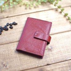 20ポケットの本革カードホルダー / Twenty