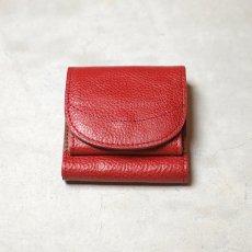 ボックス型 コインケース付きハーフ財布 / moon