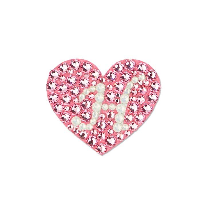 【initial heart】</br>ライトローズ
