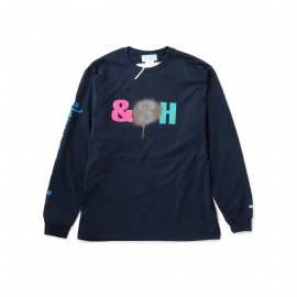 Hombre Nino x STASH for UNITED ARROWS & SONS L/S PRINT TEE