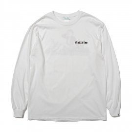 L/S PRINT TEE (it's about time)