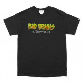 S/S PRINT TEE (A BAD IN DC LOGO)