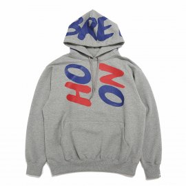 LOGO HOODED PULL OVER