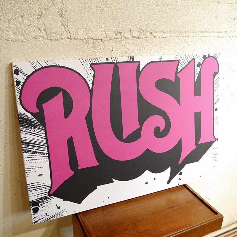 RUSH パネルポスター/ラッシュ style=