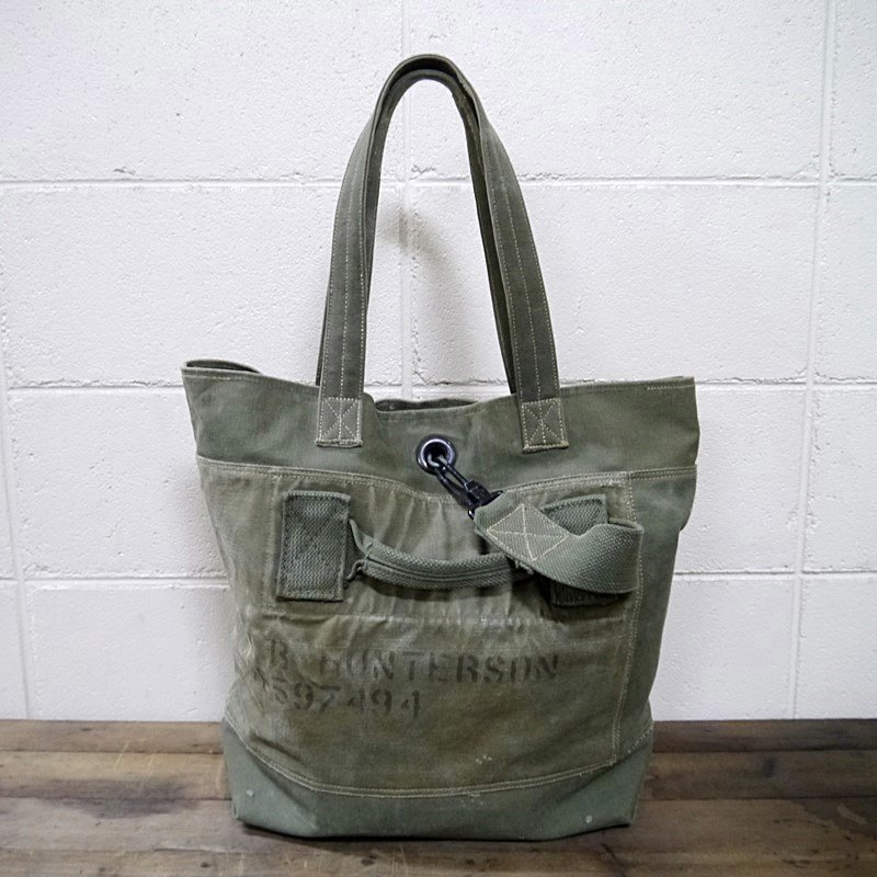 SHABBY CHIC×WEST MOUNTAIN オリジナル「Vintage Custam Military Totebag�」 style=