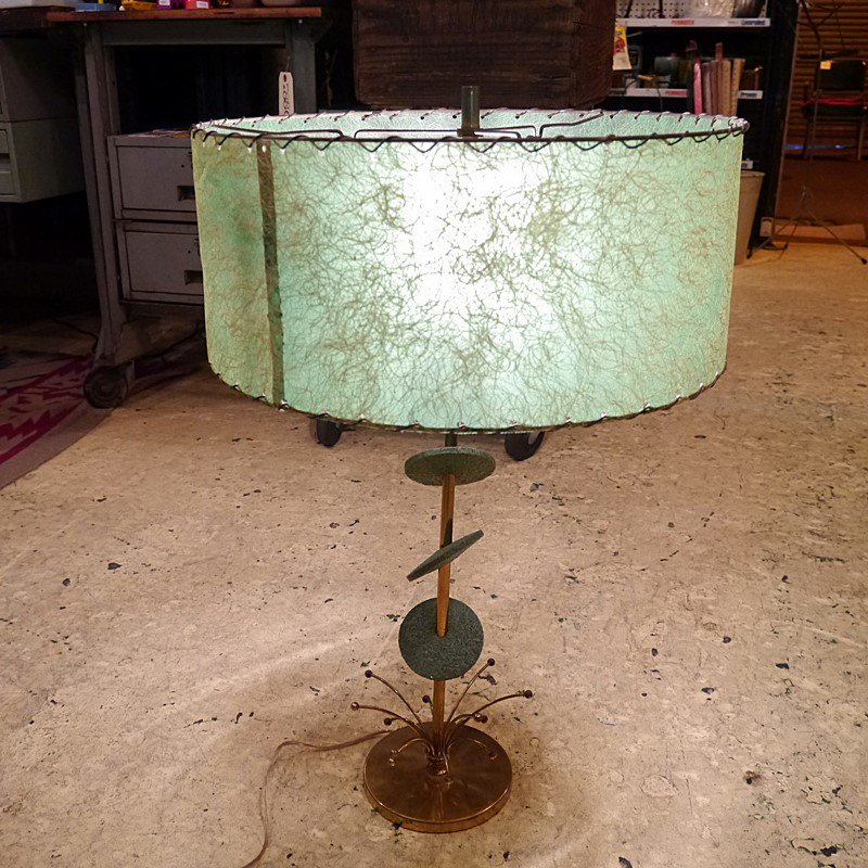 ビンテージミッドセンチュリー テーブルランプ/50'S アトミックランプ style=